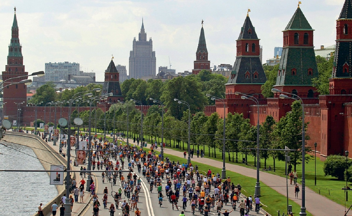 Moscow will host a large-scale bike parade on the City Day