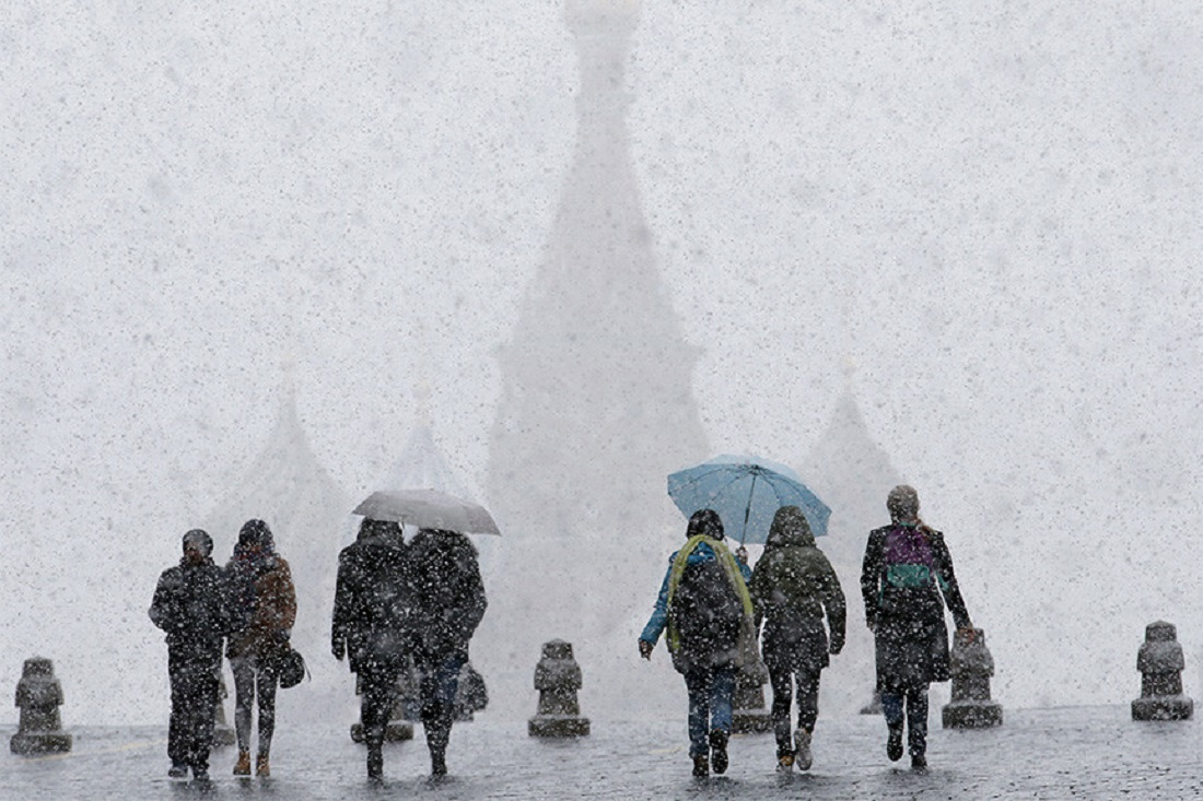 Heavy Snowfalls are Expected in Moscow