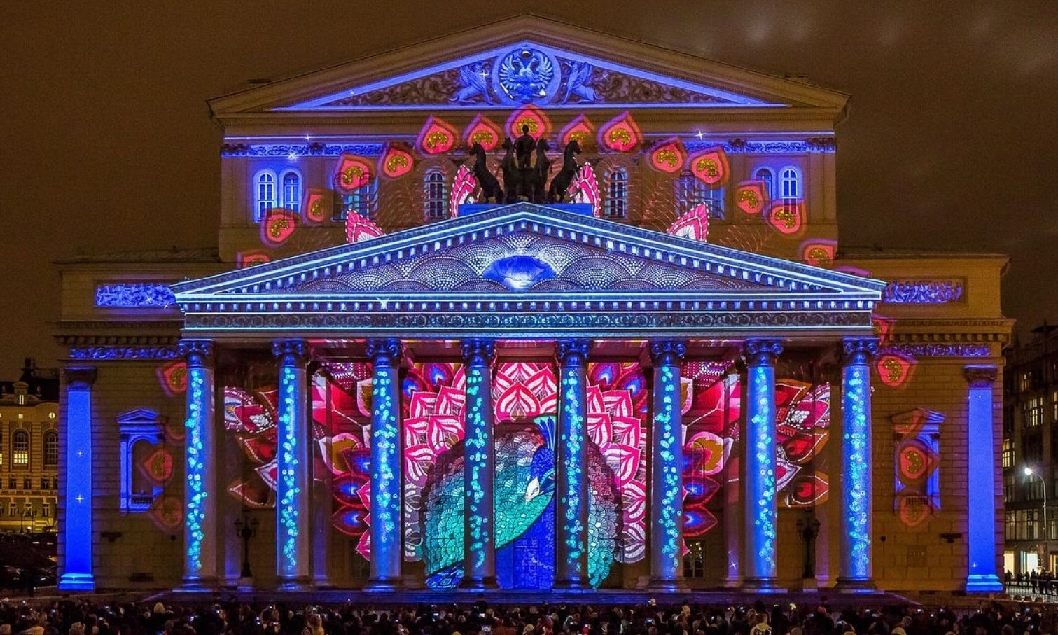 Festival of Light in Moscow: what was the event in 2017 36