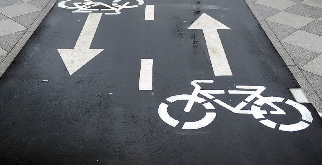 Bike lanes will be used as sidewalks after the end of the season