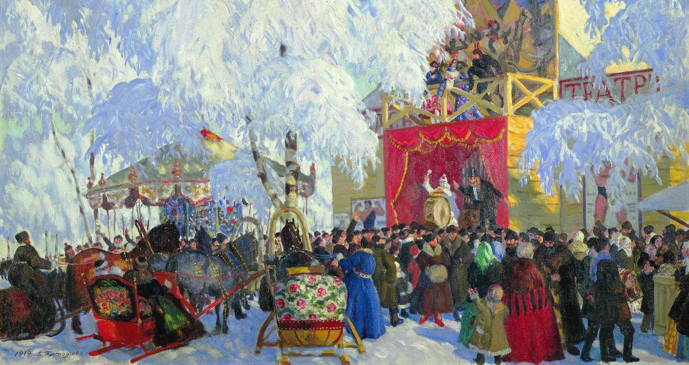 Maslenitsa 2015 in Moscow. Events list
