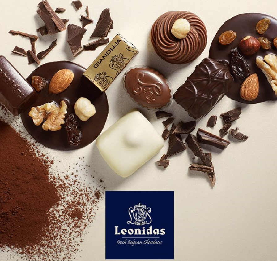 Leonidas Chocolate Café has Opened in Moscow