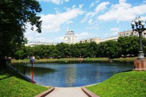 Patriarshiye Ponds