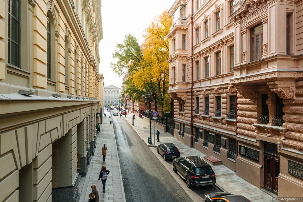 Московские улицы после реконструкции