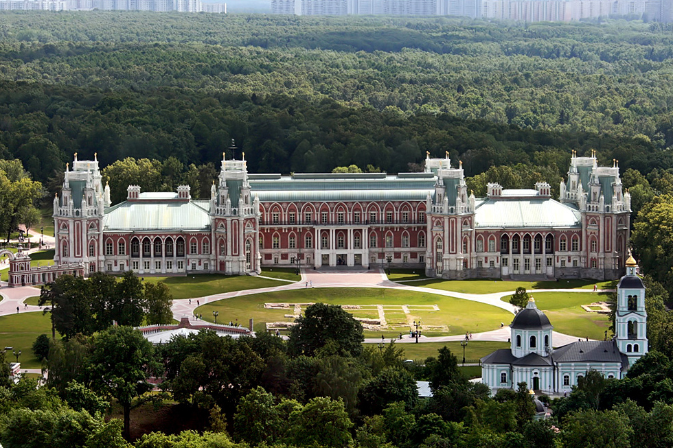 Tsaritsyno State Museum-Reserve