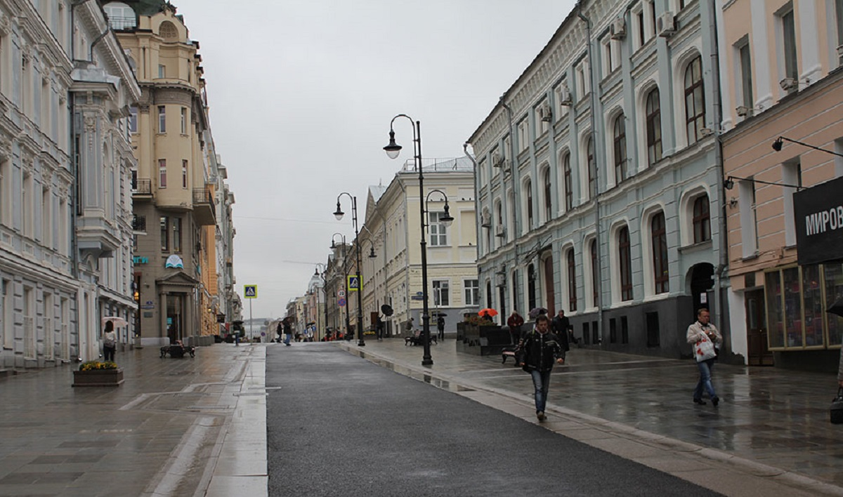 Bolshaya Dmitrovka and Rozhdestvenka streets will be partially blocked