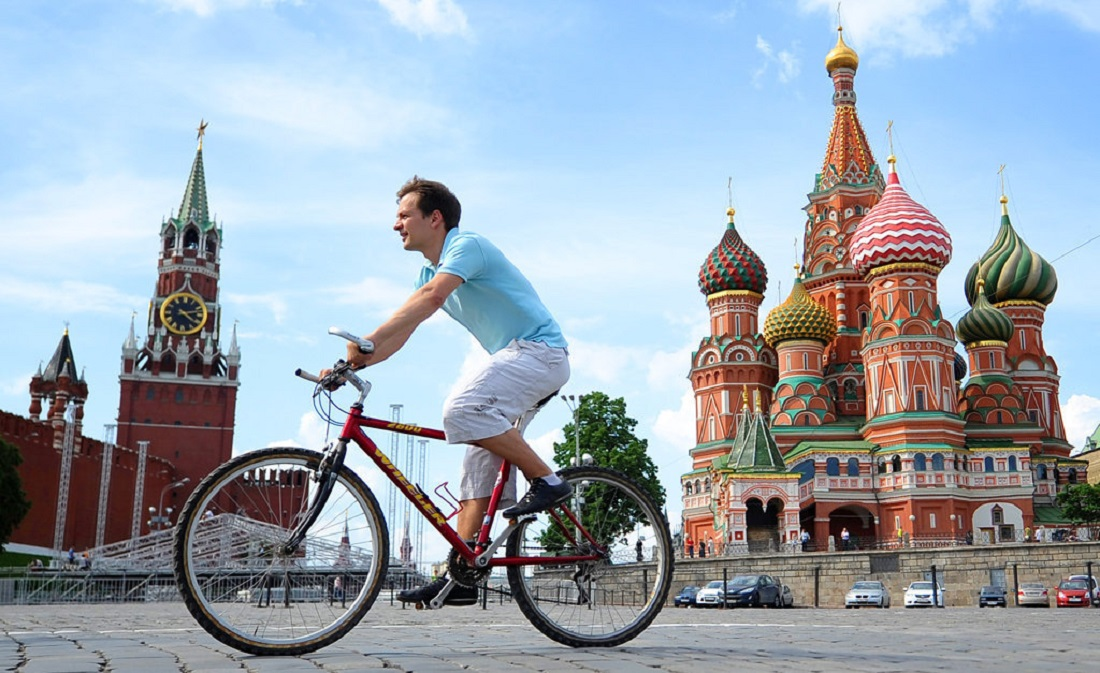 Bicycle season is opening in Moscow