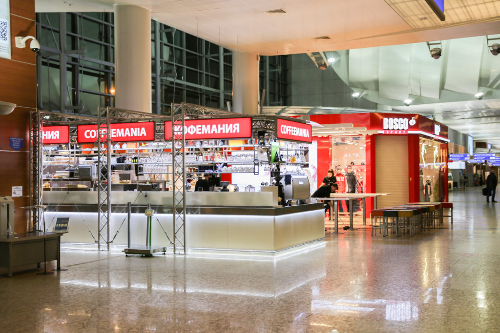 Coffemania at Terminal D