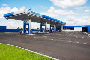Gazpromneft station