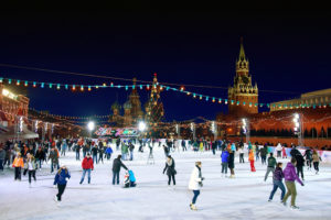 «GUM-Katok» skating rink at Red Square