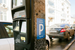 Moscow parking ATM