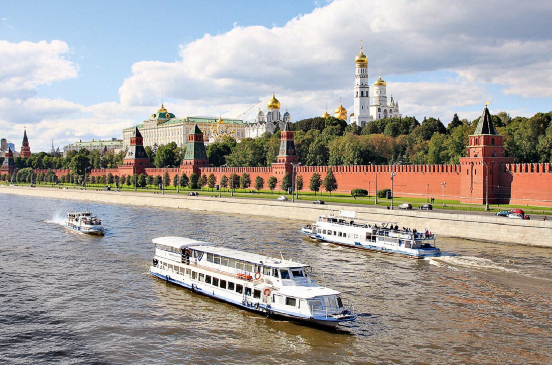 River navigation season opened in Moscow