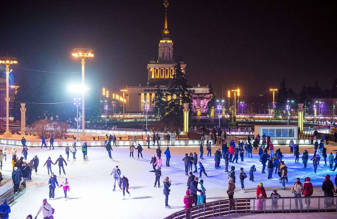 Winter Holidays in Moscow