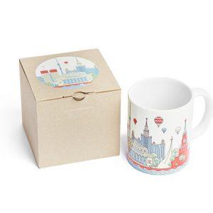 Touristic Moscow Mug